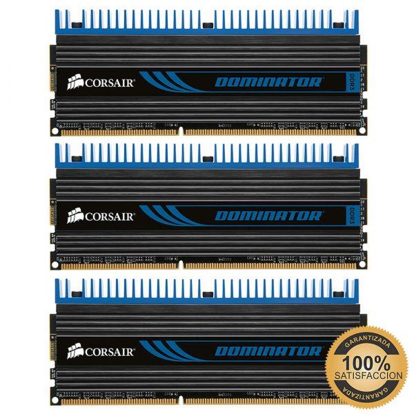 Memorias RAM 6GB DDR3 1600MHz Serie Dominator