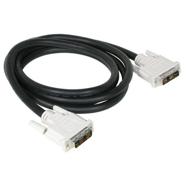 Cable Video Digital DVI-I Enlace Sencillo