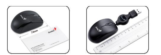 Mouse Retráctil USB Micro Traveler