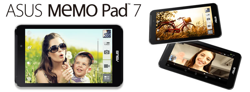 Tablet MeMO Pad 16GB Wi-Fi 7""