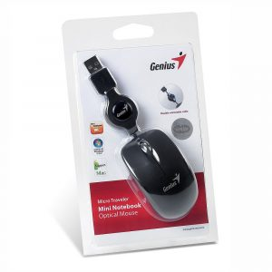Mouse Retráctil USB Micro Traveler