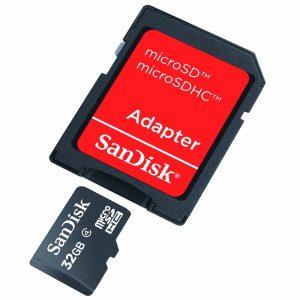 Adaptador para Tarjetas de Memoria MicroSD