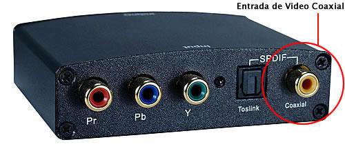 Cable RCA Video de Alto Desempeño - 1,82 m