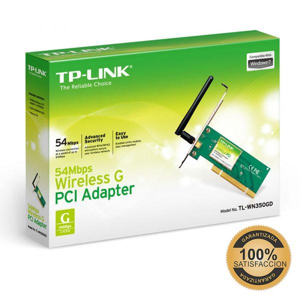 Tarjeta para Red Inalámbrica PCI TLWN350GD