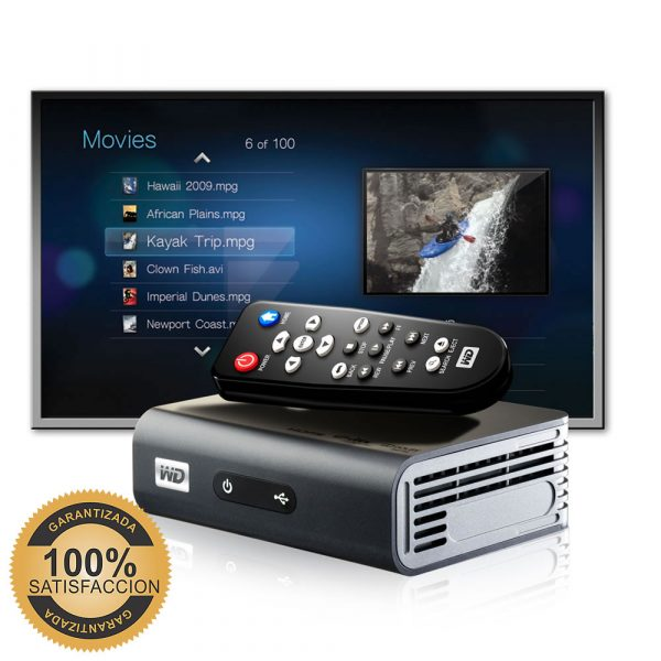 Reproductor Multimedia HD WD TV Live Plus