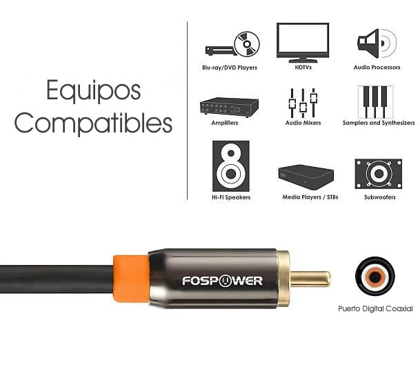 Cable Toslink y Audio S/PDIF