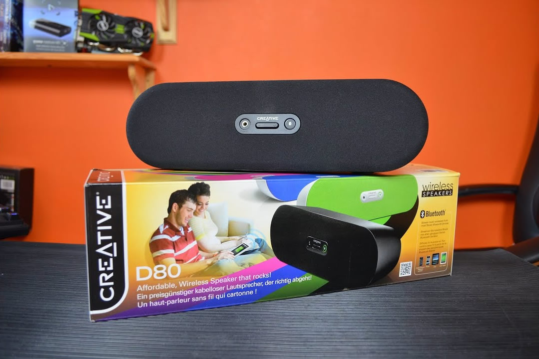 Altavoz Inalámbrico Bluetooth D80